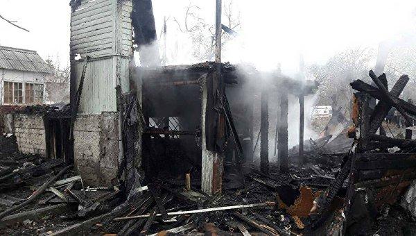 Погибли четверо детей— Пожар вКиеве