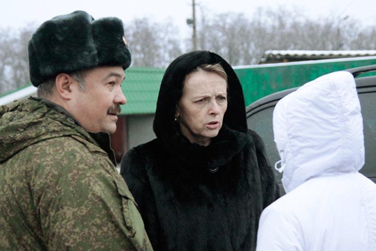 Передача 15 пленных ДНР и ЛНР на окраине Горловки