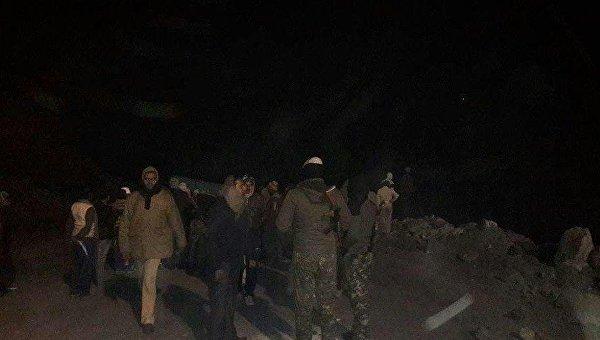 ВИндии в итоге обрушения шахты погибло неменее 5 человек