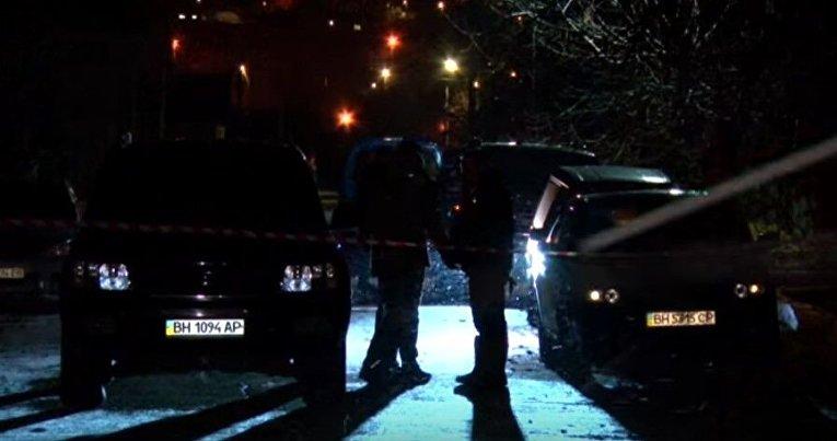 На месте убийства в Овидиополе Одесской области