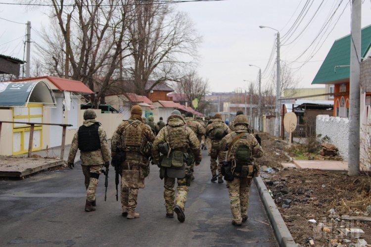 Спецоперация по задержанию убийцы в Одесской области