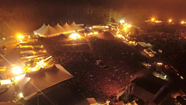 Намузыкальном фестивале вАвстралии пострадали 60 человек