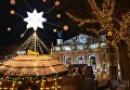 Новогодняя иллюминация во Львове