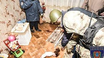 Полиция провела следственный эксперимент с овидиопольским убийцей