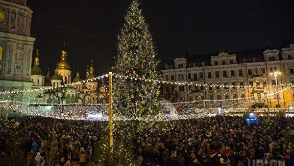 В милиции проинформировали, что новогодняя ночь вУкраинском государстве прошла спокойно