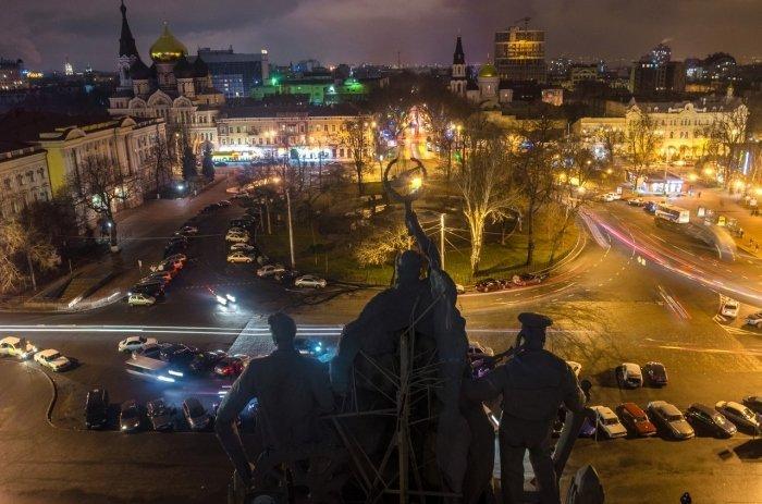 Руферы опубликовали уникальные фотографии Приморского района Одессы