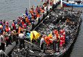 Пожар на пароме в Индонезии