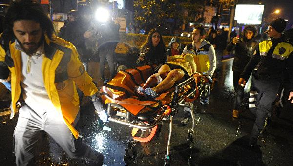 Турецкая милиция несмогла поймать террориста, напавшего наклуб вСтамбуле