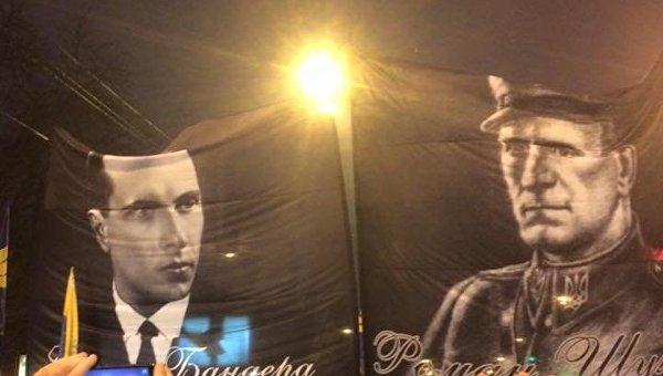 Шествие в честь дня рождения Бандеры в Киеве. Архивное фото