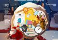 Самые популярные подарки на Новый 2017 год. Инфографика
