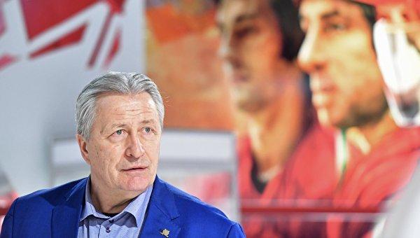 Советский хоккеист, президент Ночной хоккейной лиги (НХЛ) Александр Якушев