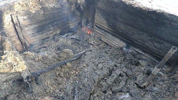 Во Львовской области сожгли дотла музей УПА
