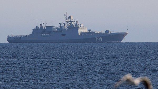 Сторожевой корабль ВМФ России Адмирал Макаров