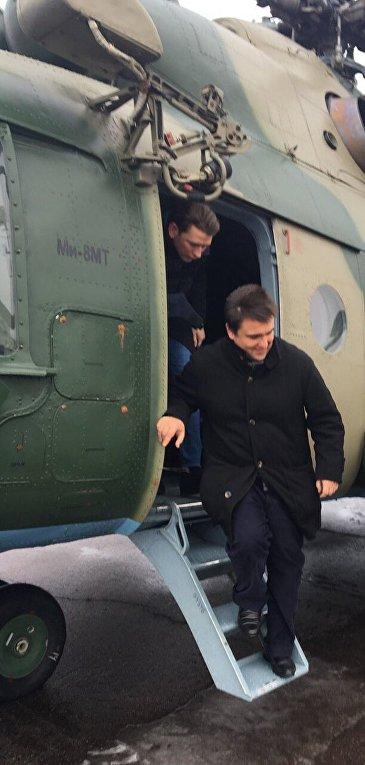 Министр иностранных дел Австрии Себастьян Курц и глава МИД Украины Павел Климкин прибыли в Мариуполь
