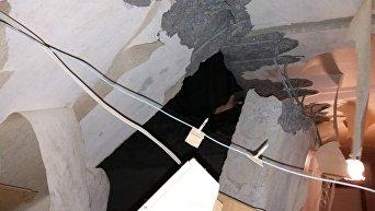 Взрыв в жилом доме в Сумах