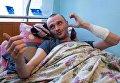 Раненный нардепом Сергеем Пашинским Вячеслав Химикус