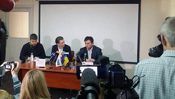 Новый глава ОБСЕ Себастьян Курц и Павел Климкин в ходе визита в Донбасс