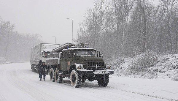 ВОдесской области как ираньше ограничено движение наряде дорог