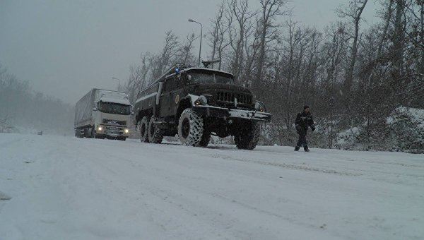 Вчетырех областях Украинского государства остается ограничение надвижение автомобильного транспорта
