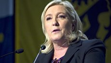 Лидер партии Национальный фронт (Франция) Марин Ле Пен