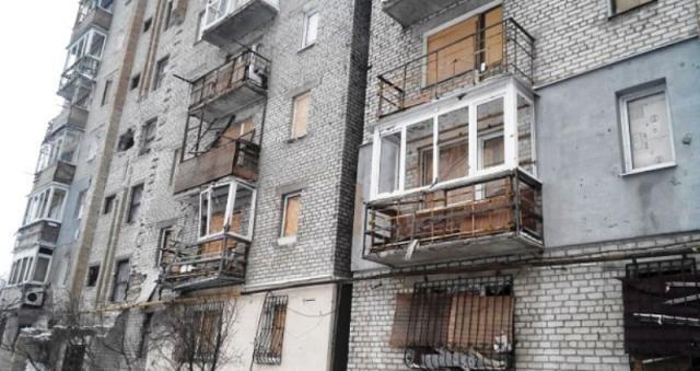 Куйбышевский район Донецка. В зоне постоянных обстрелов