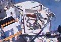 Первый выход астронавтов в открытый космос в новом году