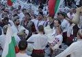В Болгарии отметили Крещение хороводом в ледяной воде. Видео