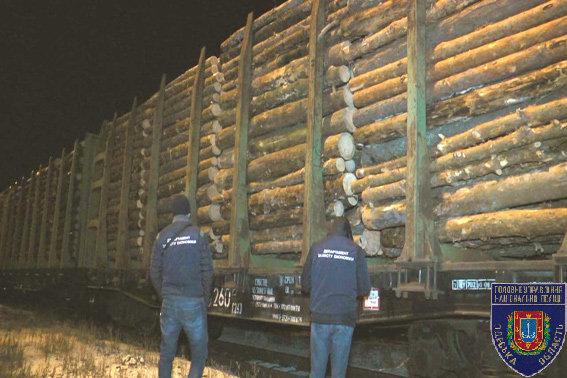На границе с Приднестровьем задержаны 29 вагонов с контрабандным лесом