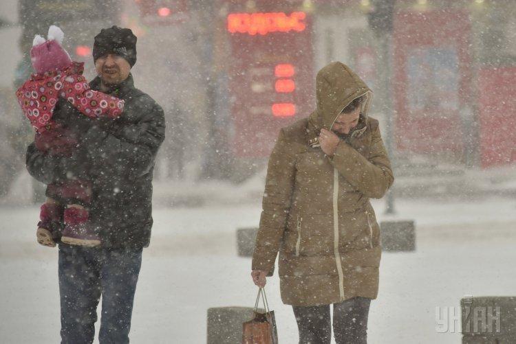Непогода в Запорожье
