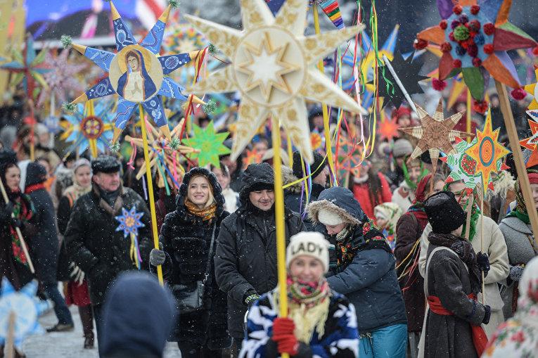 Вцентре украинской столицы сегодня состоится рождественское шествие: ожидаются колядки ивертеп