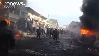 Мощный взрыв на севере Сирии: десятки погибших