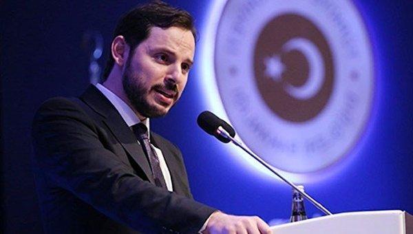Министр энергетики Турции Берат Албайрак