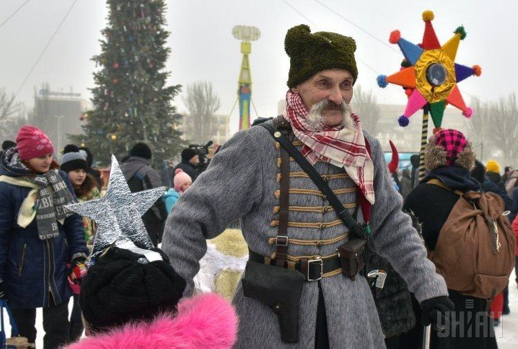 ВЗапорожье провели 1-ый фестиваль вертепов