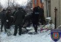 Взрыв частного дома в Одессе