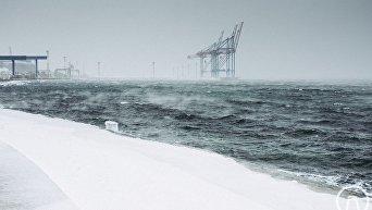 Замерзающее море Одессы