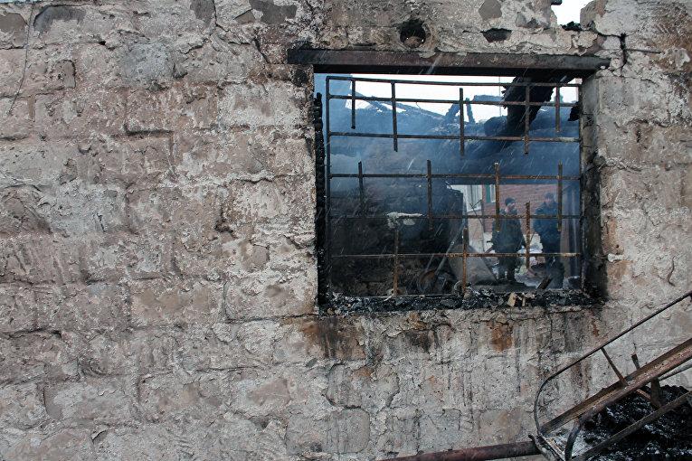 Последствия обстрела Зайцево в Донецкой области