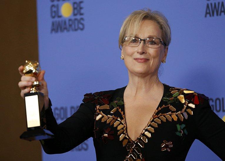 Звезда Голливуда Мерил Стрип, которая в этом году удостоилась специальной премии за вклад в киноиндустрию