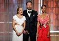 Актеры Сиенна Миллер, Бен Аффлек и Зоуи Салдана представляют номинантов.