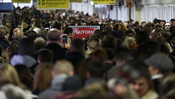 Забастовка работников лондонского метрополитена