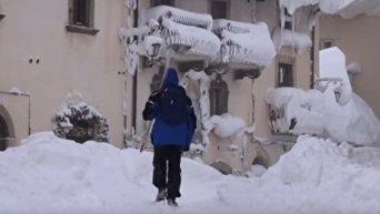 Экстремальные холода в Европе, десятки погибших от холода. Видео