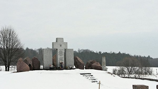 Второй мемориал уничтоженным жителям Гуты Пеняцкой