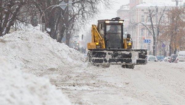 Непогода в Украине. Архивное фото