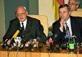 Р.Херцог (слева). Архивное фото