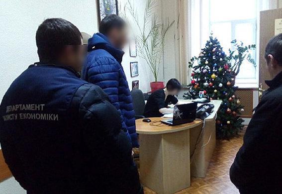 Задержание взяточников в Харькове