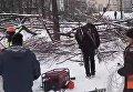 Конфликт с застройщиками в Киеве
