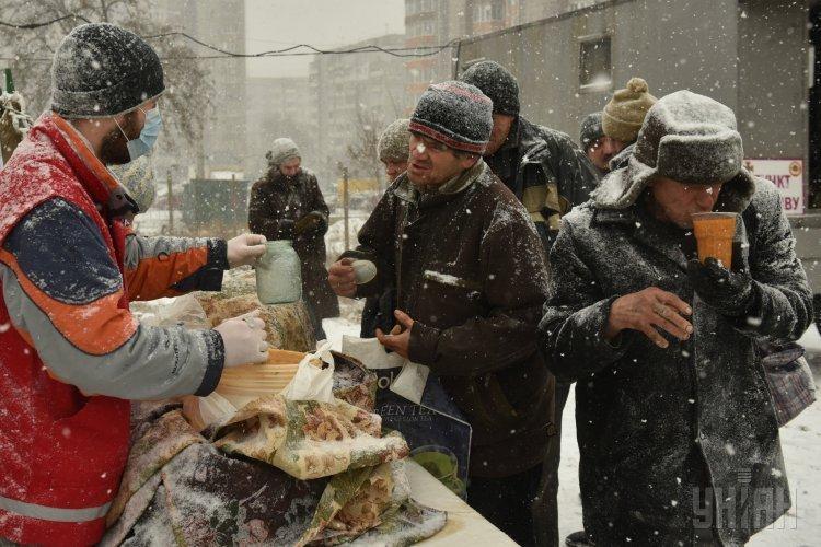Пункты обогрева в Украине