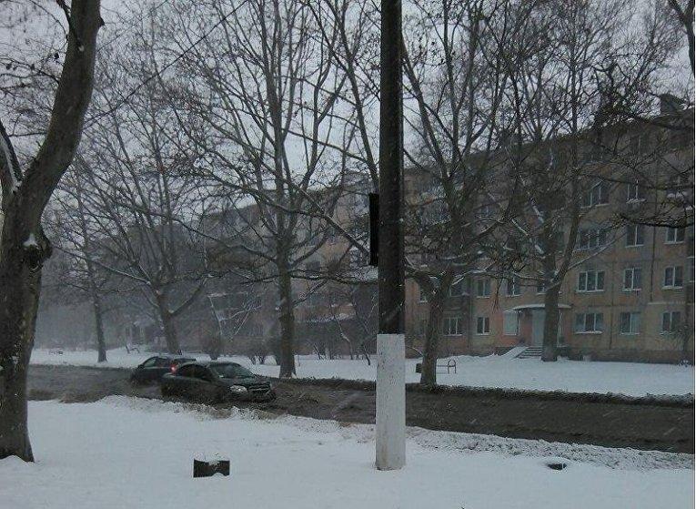 Прорыв трубы в Одессе