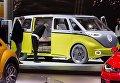 Концепт минивэна Volkswagen I.D. Buzz