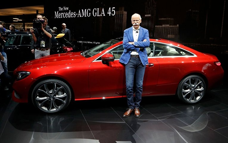 Председатель правления Daimler AG, глава Mercedes-Benz Дитер Цетше