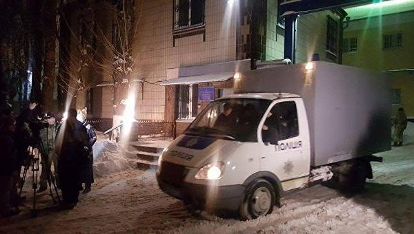 Ситуация возле Лукьяновского СИЗО после нападения торнадовцев на охрану